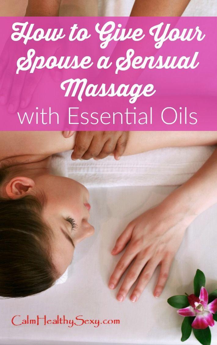 A Sensual Massage pin on beauty tips/makeup/health