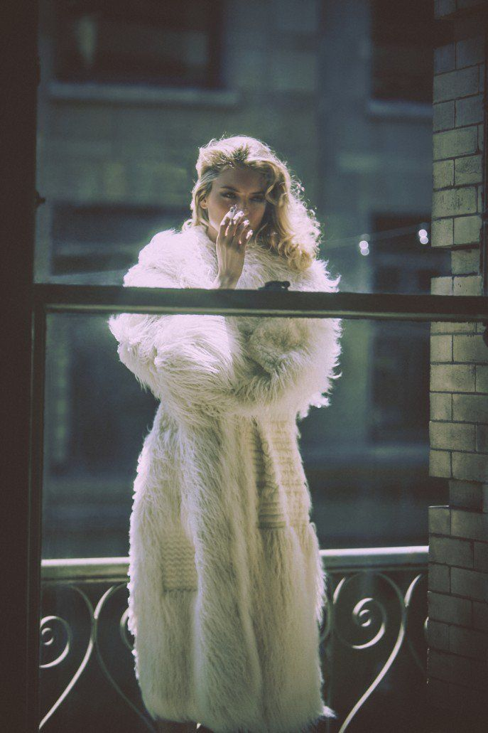 Martha Hunt by Guy Aroch, styled by Liz McClean for So It Goes Issue 6.