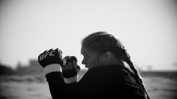 Watch this before your next workout. Be inspired. It's ESPN's Nine for IX Shorts: Rowdy @rondarousey.