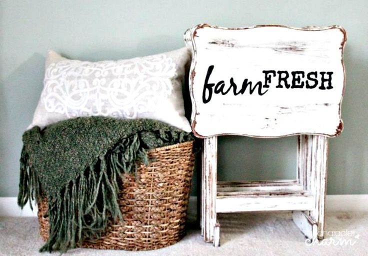 s why old tv trays are the new mason jars 11 reasons , painted furniture finishes, repurposing upcycling, Create farmhouse folding tables