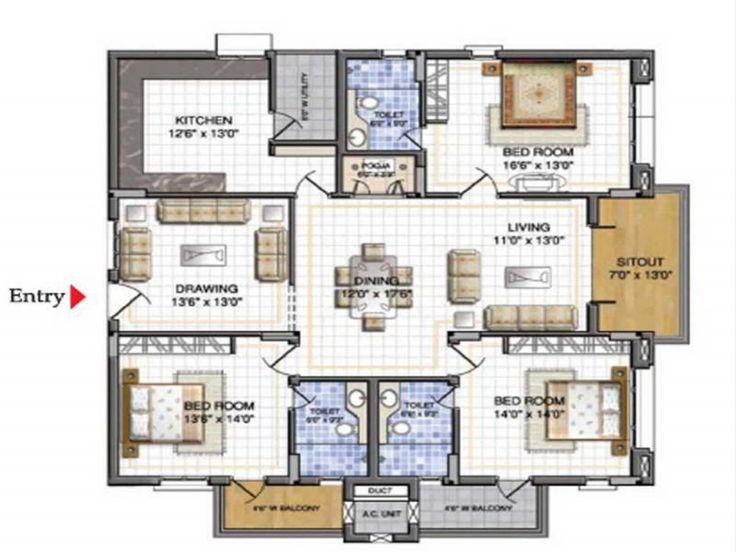 1 House Plans Design