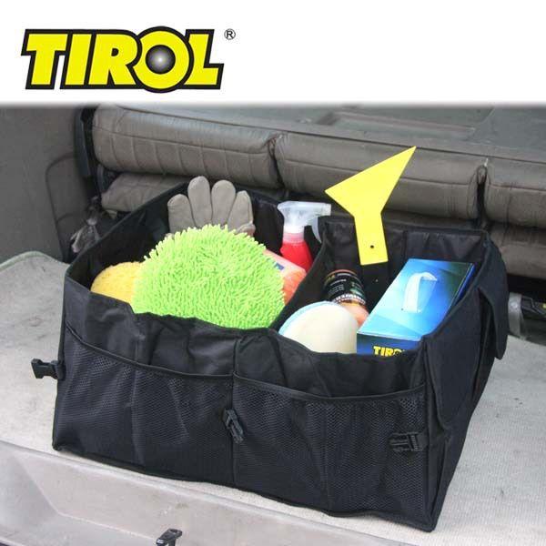 TIROL T14654a Просторный диван-Организатор Багажнике Автомобиля Грузовой Организатор Складной Мешок Хранения Черный Бесплатная Доставка