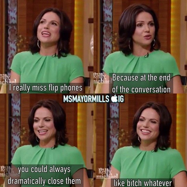 Yessss Lana<<<< I had a little Nokia that I could do this with when I was 14. I loved the feeling of hanging up on it.