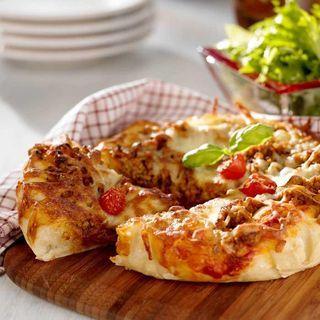 Taco pan pizza