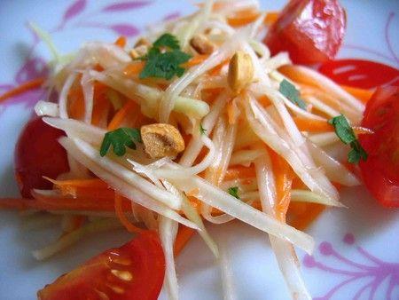 *** SOM TAM  salade de papaye