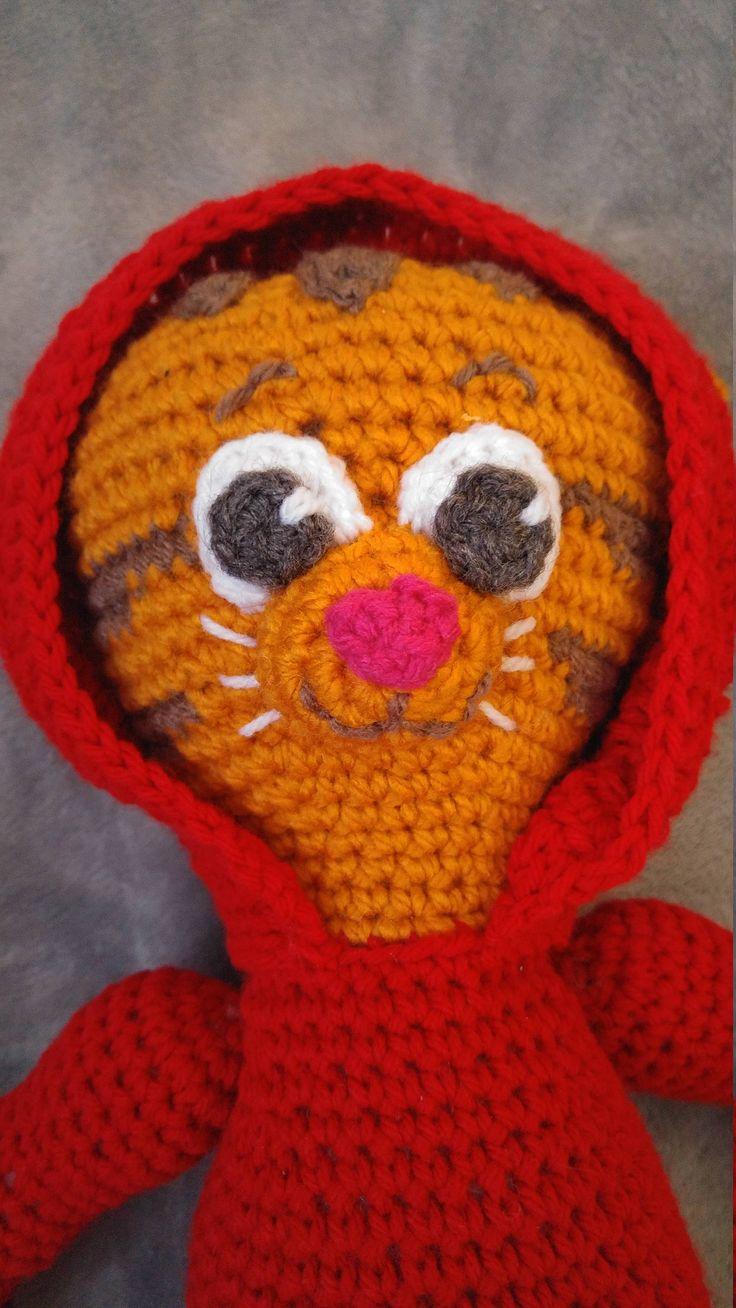 Danny TIger Crochet Pattern by MarjielousCreations on Etsy