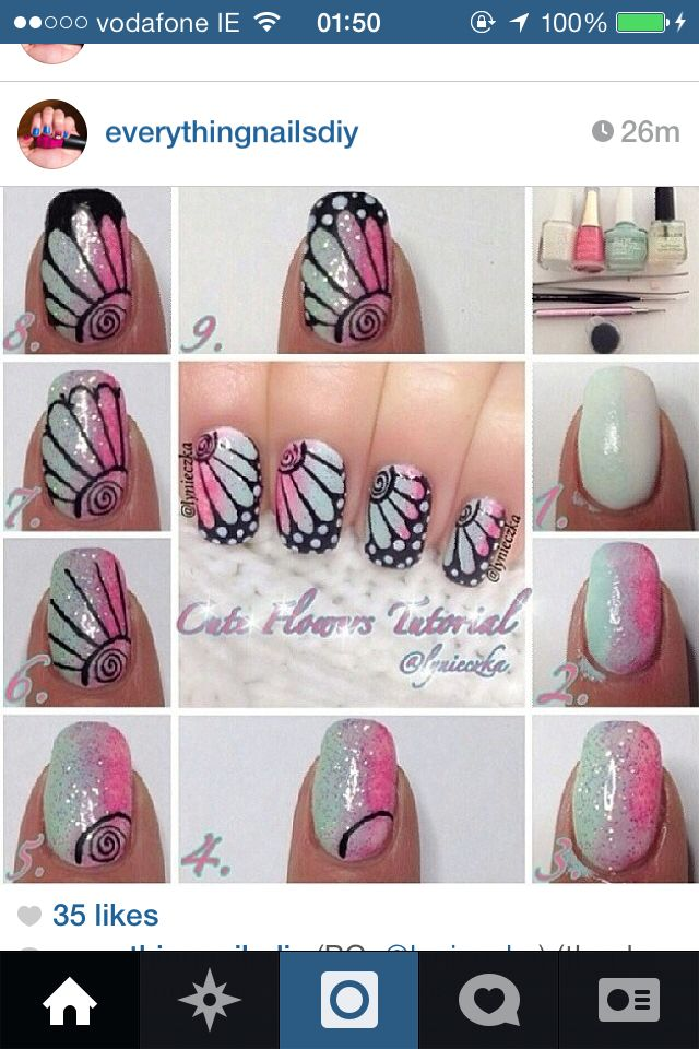 Gel nail tutorial