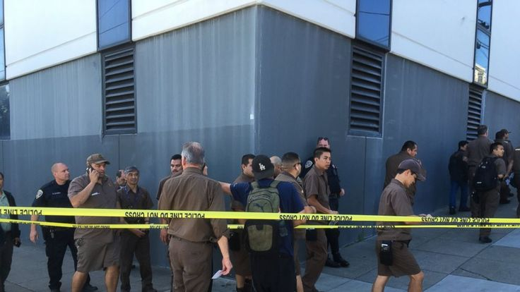 A UPS employee opened fire at a San Francisco package delivery facility on Wednesday, killing three employees and then himself as officers closed in, police and the company said.  San Francisco assistant police chief Toney Chaplin said a news conference that two others were wounded in the... - #Dead, #Francisco, #Gun, #Including, #Leaves, #San, #Shooting, #TopStories, #Ups