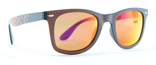 Occhiali da sole con lente rainbow, Invu