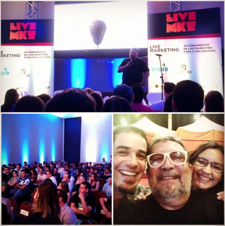 Evento sobre Live Marketing com Tony Coelho, em Campo Grande/MS.