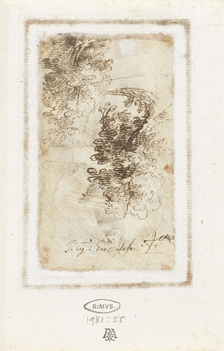 Schetsen van bomen, Giovanni Stefano Marucelli, 1596