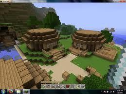 minecraft house village - Google Search