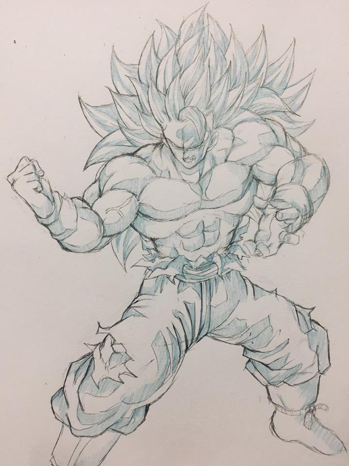 Super Saiyajin 3 Son Goku!