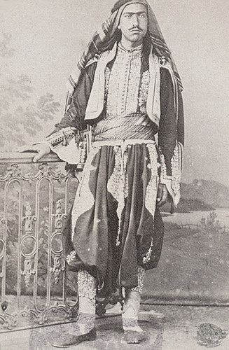 [Ottoman Empire] A Portrait Photo, 1870s (Bir Osmanlı Portre Fotoğraf, 1870'ler) (50) | by OTTOMAN IMPERIAL ARCHIVES