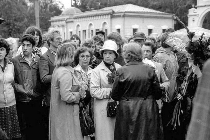 Мать В.Высоцкого. Ваганьково, 28 июля 1980 года.<br />