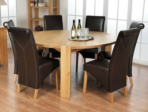 1000 Ideas About Round Oak Dining Table On Pinterest Kitchen Table Redo O