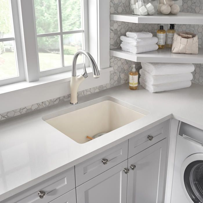 Blanco 401927 Liven 25 Laundry Sink Laundry Room Sink Sink