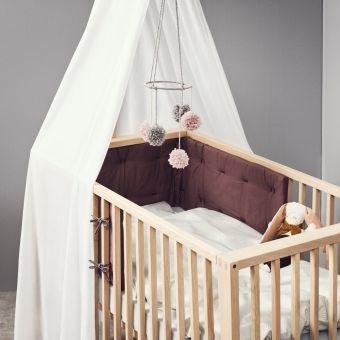Leander Desigen Babybett / Kinderbett LINEA, Holz, Eiche, 60x120cm |  günstig online kaufen | Dannenfelser Kindermöbel