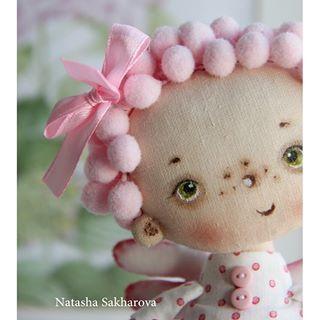 А ещё вас ждёт небольшой сюрприз!Весна,весна... #куклаизткани…