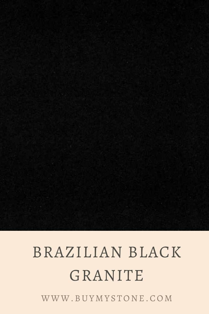 Brazilian Black Granite Brazil Black Granite Slab Black Granite Granite Slab