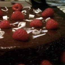Deep Chocolate Raspberry Cake | Food I Must Try | Pinterest ...
