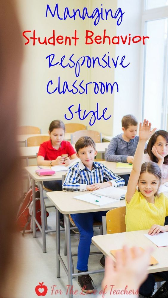 Classroom management of student behavior is difficult. That's why it is so important to have management strategies in place at the beginning of the school year. The Responsive Classroom approach is one that helps teachers to respectfully help students learn from their mistakes. Learn how to manage student behavior Responsive Classroom style at For The Love of Teachers.