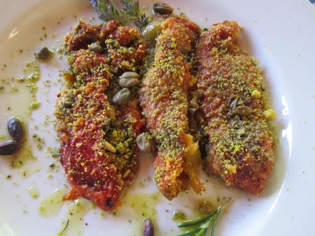 peperoni al forno gratinati ricetta