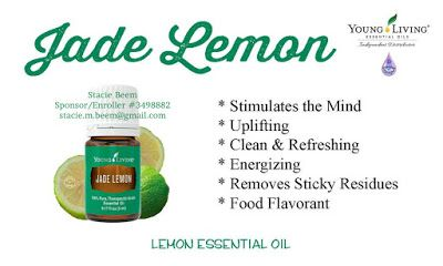 You Know I Love to Share: Young Living Essential Oils Jade Lemon