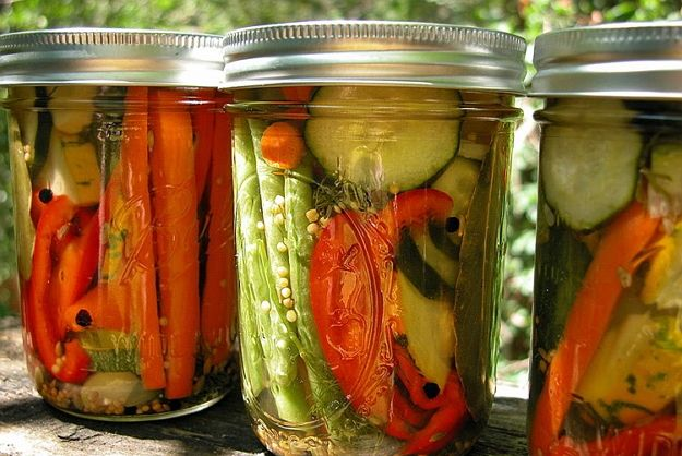 kvašená zelenina pickles