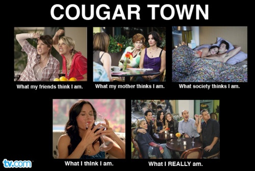 Our very own Cougar Town meme!