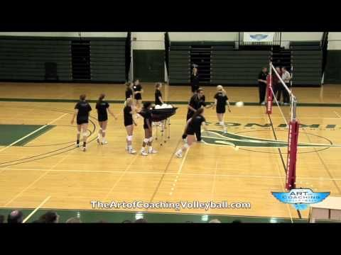 Scrap Drill--good way to train playing balls out of the net, and out of system attacking.
