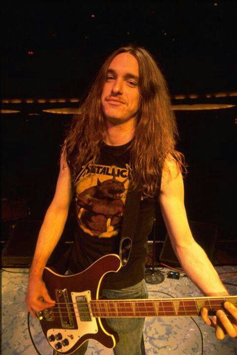 Rest in peace to Metallica's first and founding bassist. Cliff Burton.