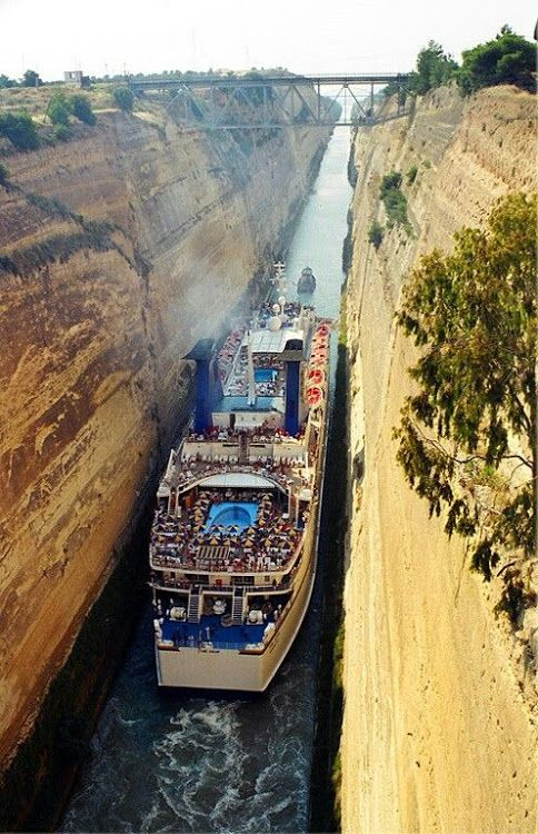 The Corinth Canal is a canal that connects the Gulf of Corinth with the Saronic Gulf in the Aegean. #Relax more with healing sounds:
