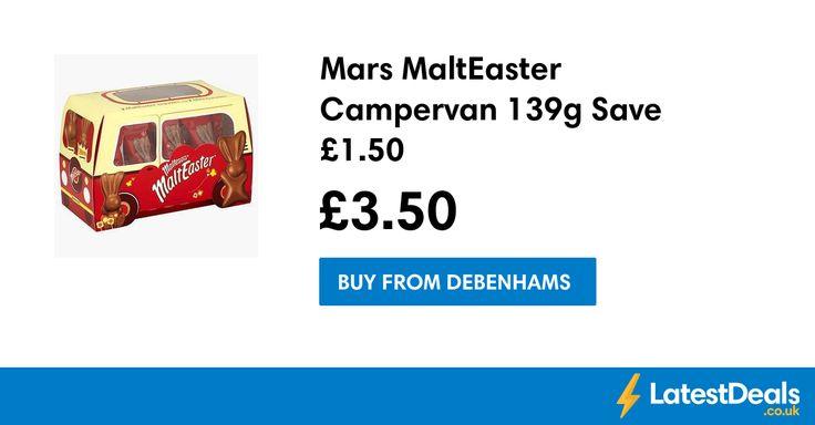 Mars MaltEaster Campervan 139g Save £1.50, £3.50 at Debenhams