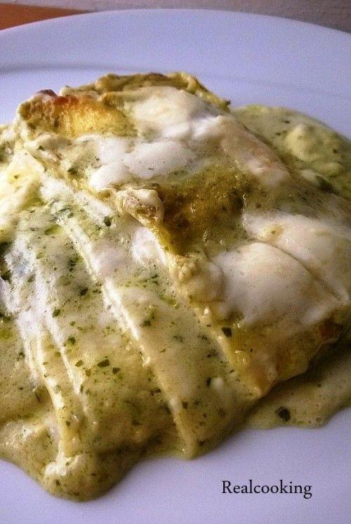 Lasagne al Pesto e Stracchino Realcooking