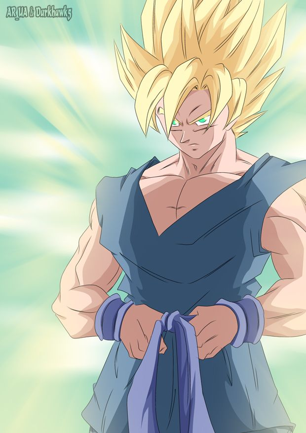 Pin Em Son Goku