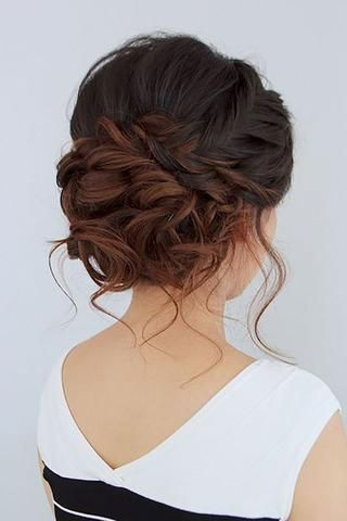 Pretty Braided Updo Hairstyles You Will Love - Page 24 of 40 - HAIRSTYLE ZONE X #hairupdos
