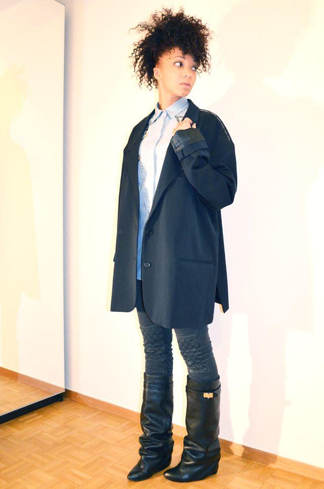 #mercredie #blog #mode #beauty #chemise #shirt #circus #jean #denim #perles #perls #casio #vintage #watch #montre #gold #fantaisie #bijoux #aldo #jewels #bague #zara #ring #rings #boots #veste #manteau #jacket #coat #h #mmm #maison #martin #margiela #oversize #oversized #masculine