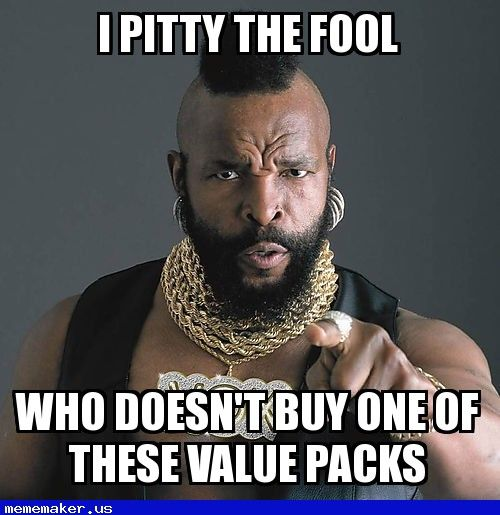 Quotes About People Who Notice: 44 Best Images About Mr T Pity The Fool Meme Creator On
