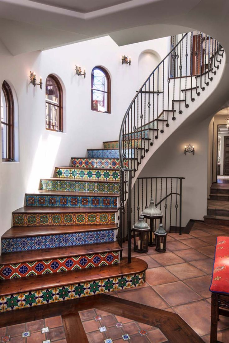 Spanish coastal style house with sophisticated interior …