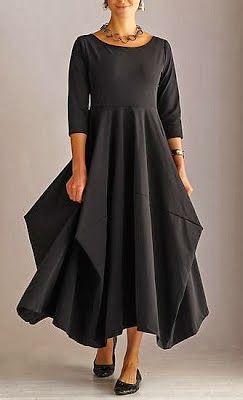 patrón para copiar este vestido. Free pattern