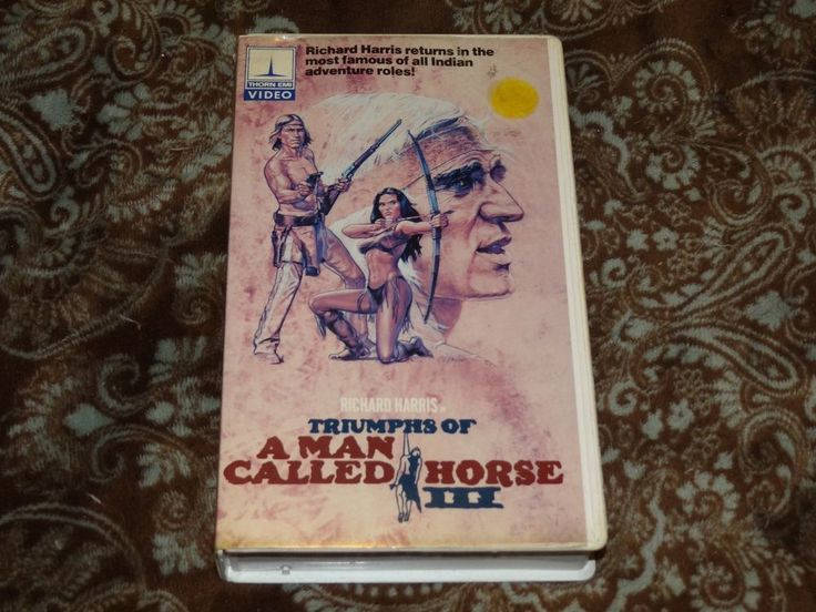 Triumphs of a Man Called Horse III (VHS, 1980s) OOP 1st Thorn EMI! *NOT ON DVD*