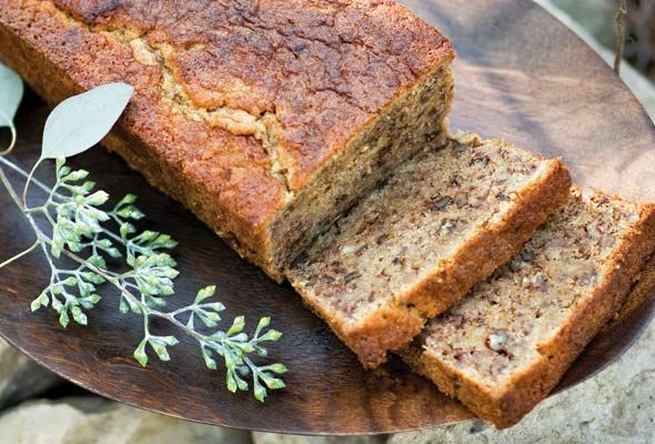 Gluten-Free Banana Bread #glutenfree #bread #breakfast