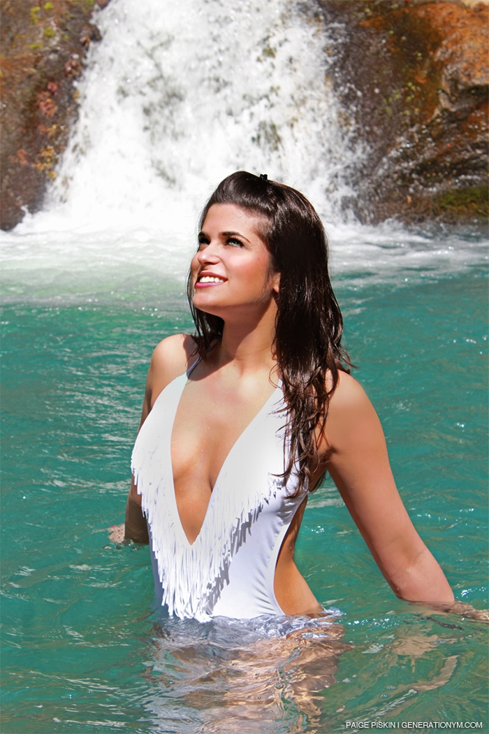 Jackie in costa rica! tags waterfall costa rica blue water ...