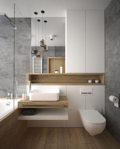 Шкафа на банята може да е залепен до стъклото на душа