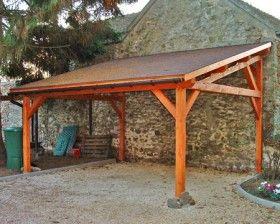 17 meilleures id es propos de abris voiture bois sur pinterest abri pour voiture garage - Abri jardin bois caen ...
