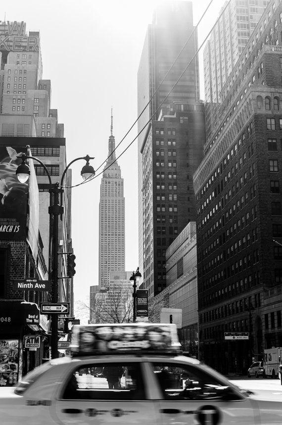 New York City Black and White Fine Art by LindaThreadgill on Etsy, $35.00