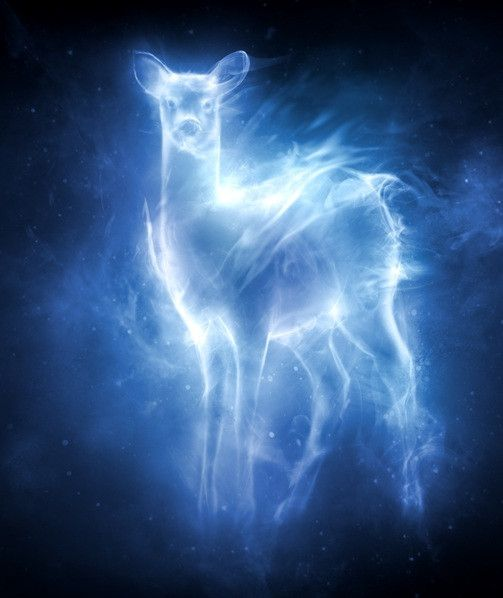 Severus Snape's Patronus... I would love to turn this into a tattoo.