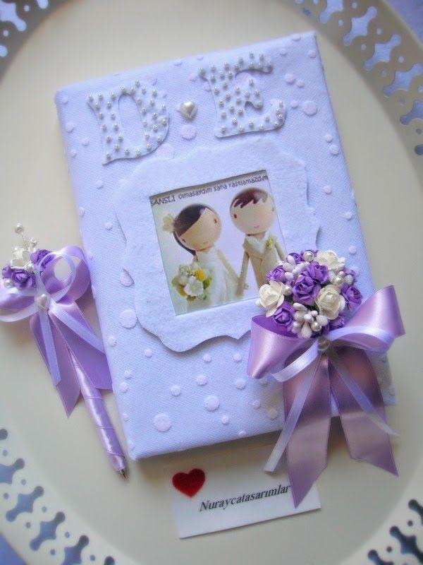 Nuraycatasarımlar: Düğün Anı Defteri