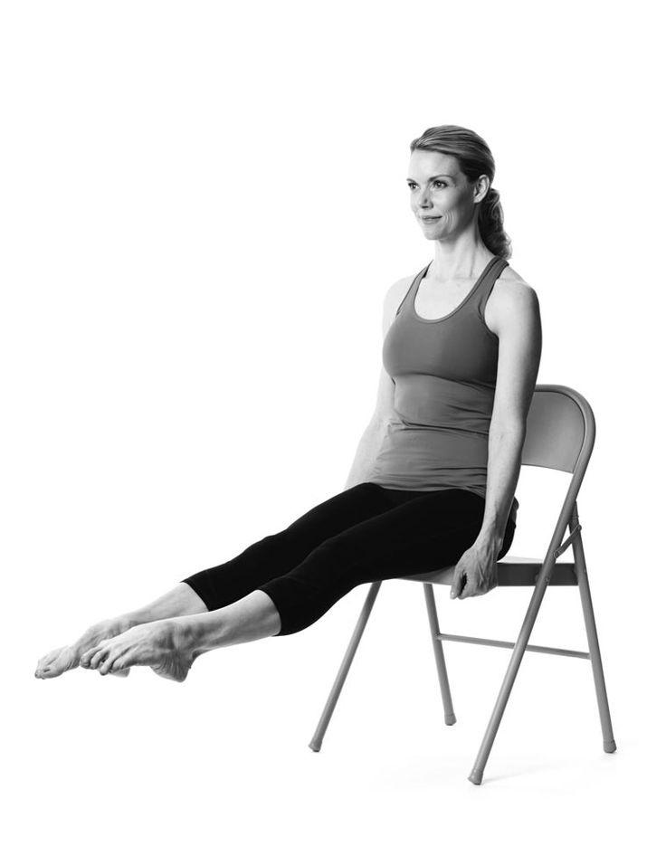 Got shin splints or just wanna strengthen those feet? KristiMcGee has two poses for you to try. Totally easy to add on to your home workout!